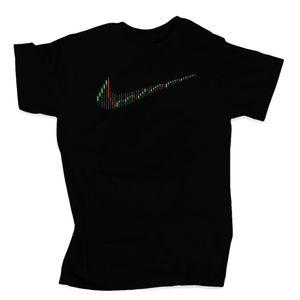 Nike Stock Chart t-shirt unisex